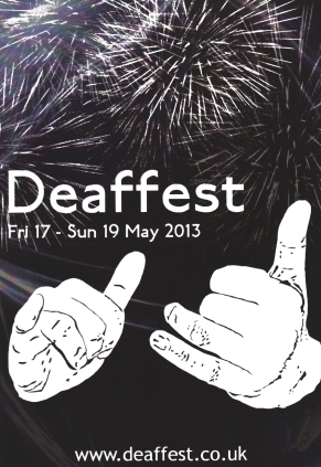 Deaffest 2013 Flyer #1