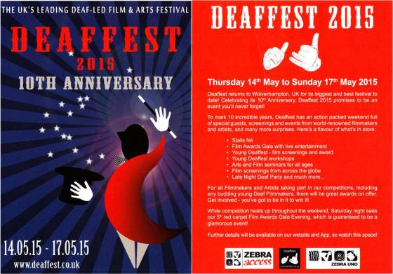Deaffest Flyer