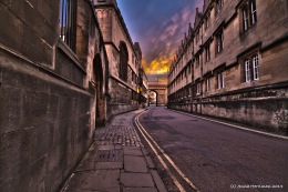 Oxford Merton Street hdr
