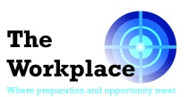 The Workplace with strapline