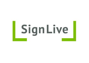 A4 SignLive logo