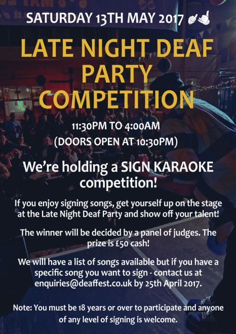 Karaoke-Competition-Poster