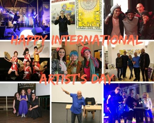 Deaffest Happy International Artist's Day
