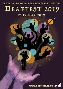 Deaffest 2019 Poster W