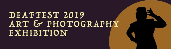 art & photography exhibition heading