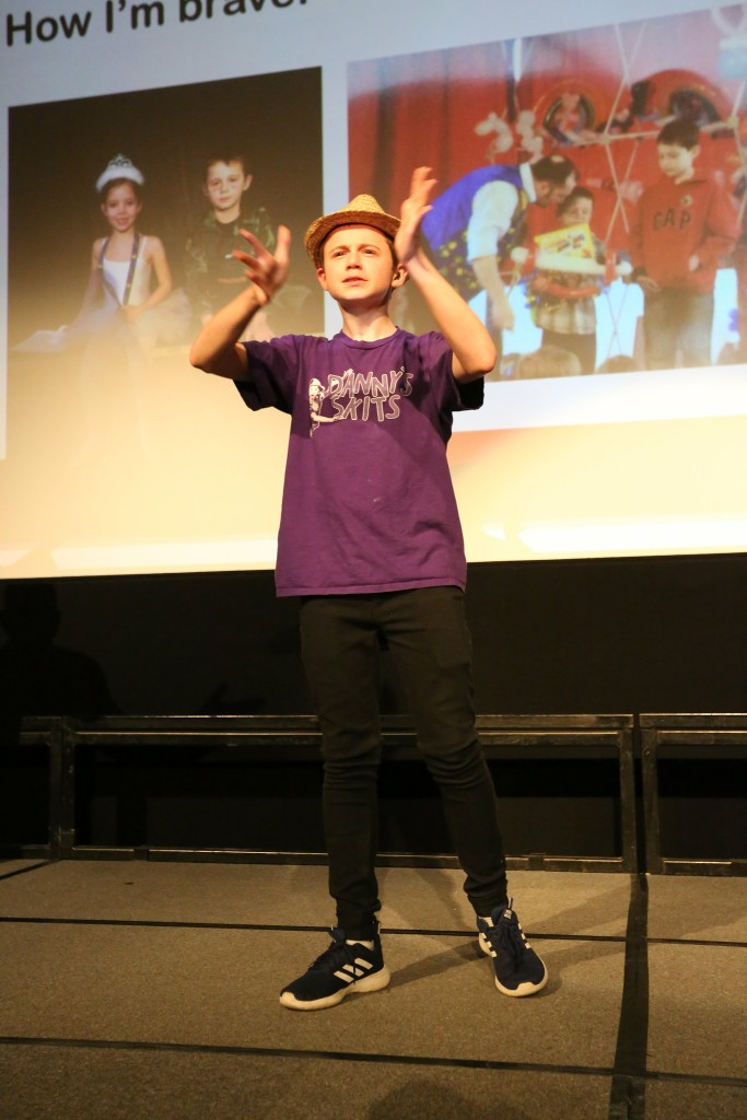 Ambassador of Young Deaffest Danny Murphy. Photo taken by Mark Mecklenburgh, Willow Photography Ltd.
